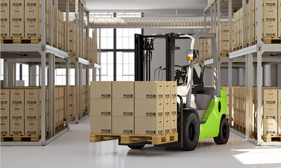warehousing and forklift